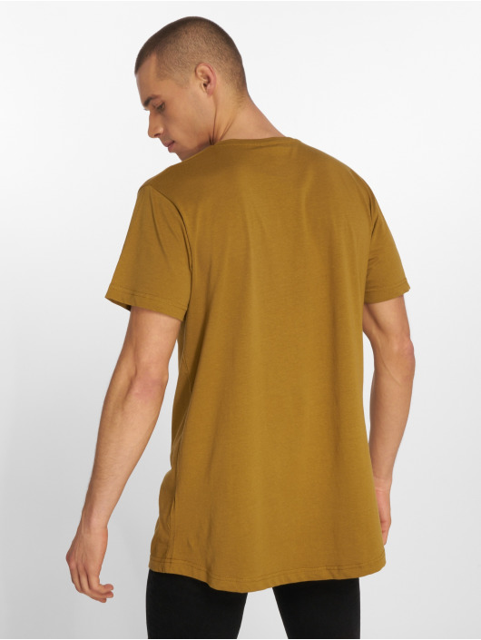 T Long Brun Urban Classics 563294 Homme Shaped shirt CdeBxro