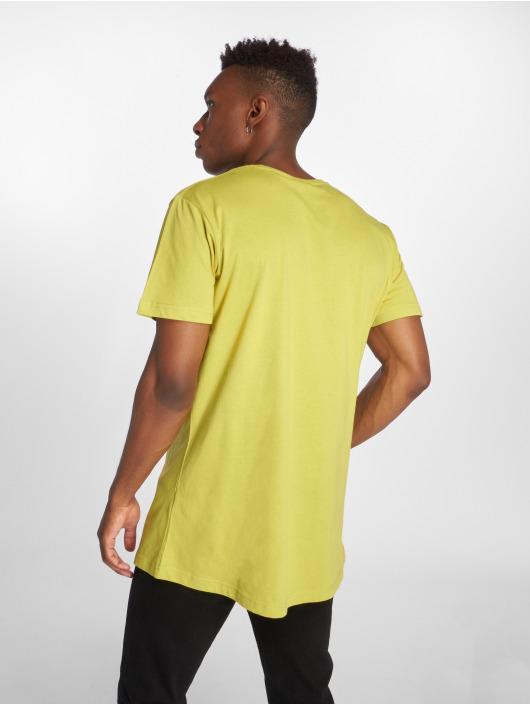 Urban Classics T-Shirt Shaped Long gelb