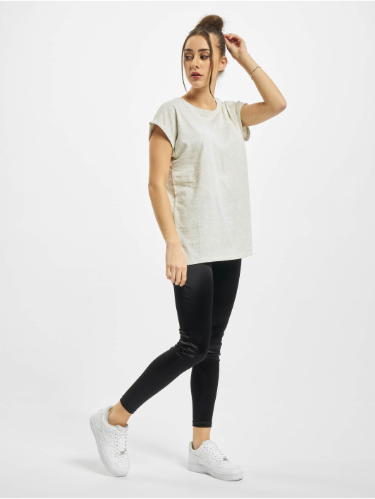 Urban Classics T-shirt Ladies Extended Shoulder grå
