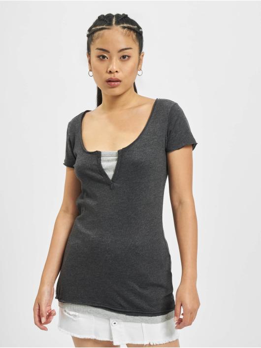 Urban Classics T-Shirt Two Colored grau