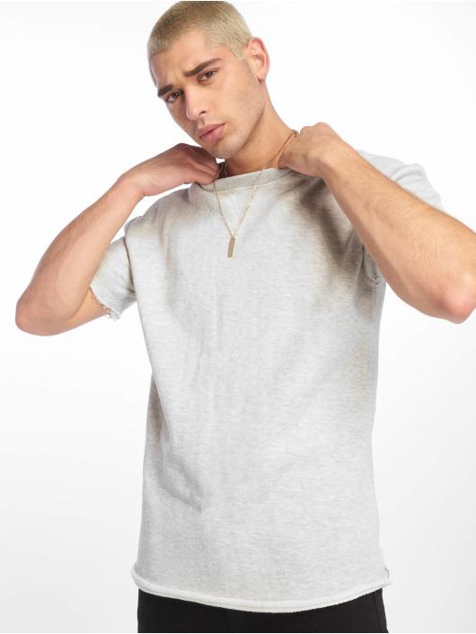 Urban Classics T-Shirt HerirngboneTerry grau