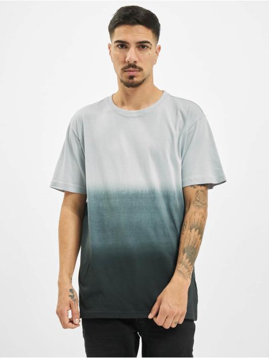 Urban Classics T-Shirt Dip Dyed grau