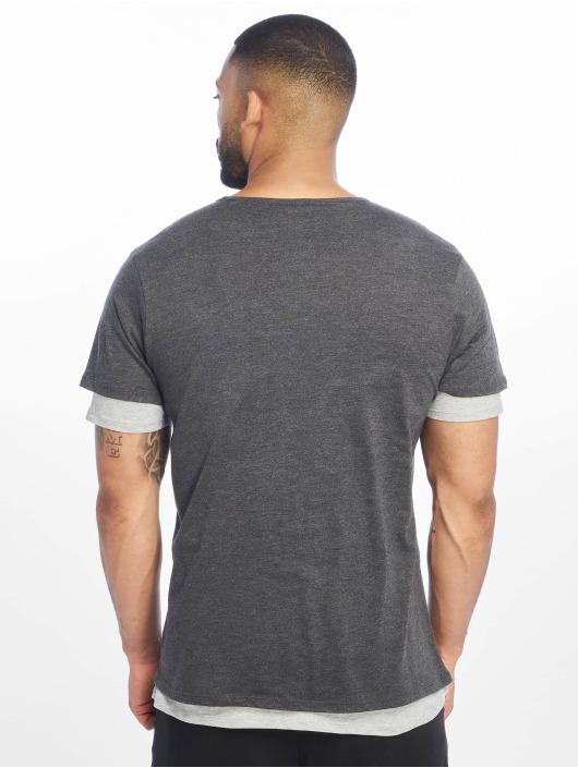 Urban Classics T-Shirt Full Double Layered grau