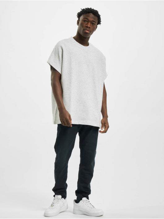 Urban Classics T-Shirt Cut On Sleeve Naps Interlock Tee grau