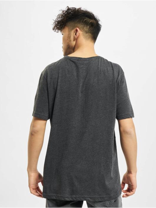 Urban Classics T-Shirt Contrast Panel gray