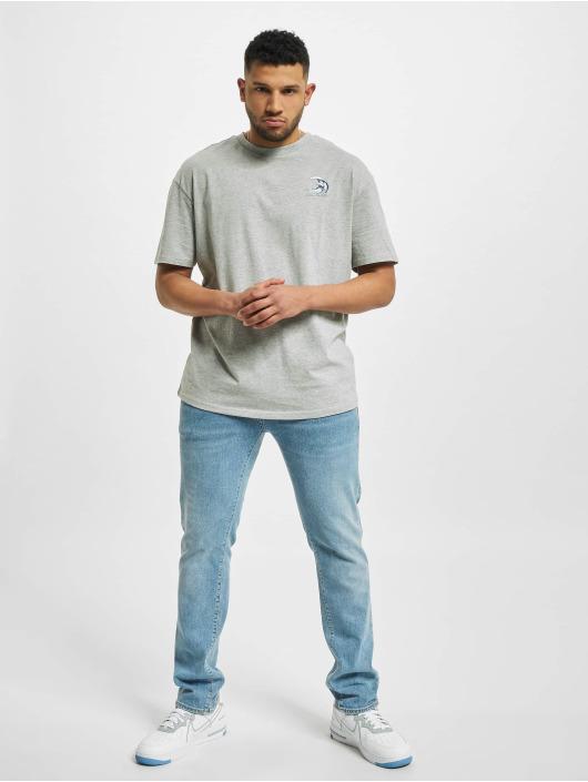 Urban Classics T-Shirt Big Wave gray