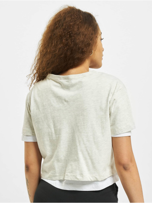 Urban Classics T-Shirt Full Double Layered gray
