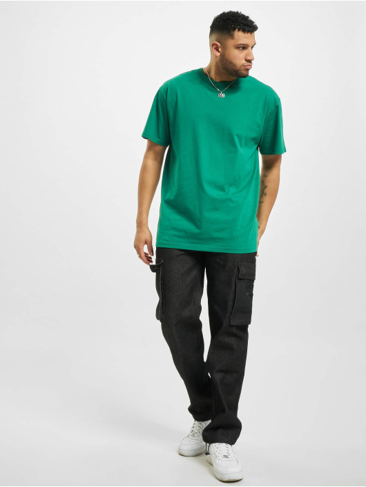 Urban Classics T-Shirt Oversized green
