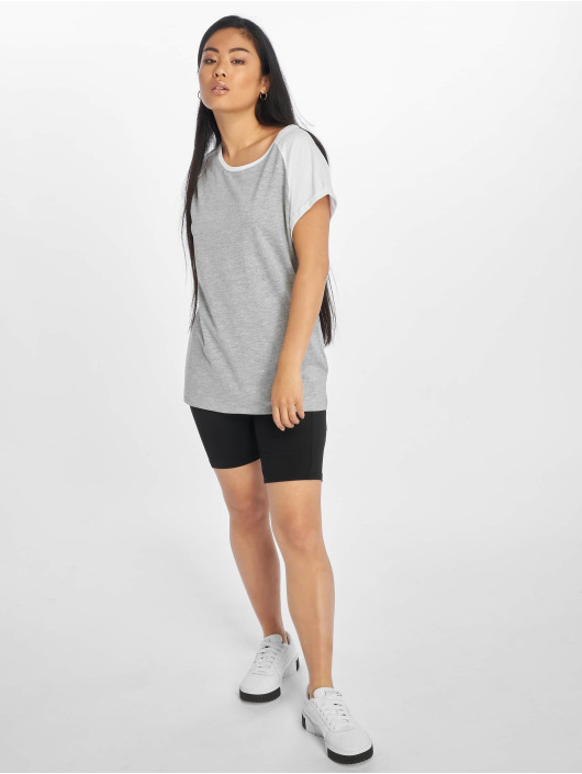 Urban Classics T-Shirt Contrast grey