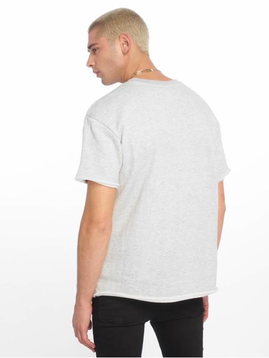 Urban Classics T-Shirt HerirngboneTerry grey