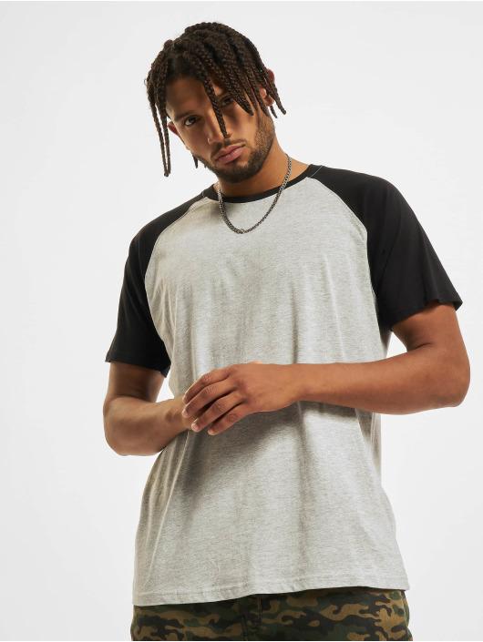 Urban Classics T-Shirt Raglan Contrast grey