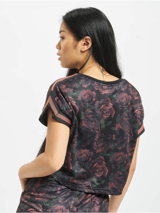Urban Classics T-shirt Stripes Mesh grigio