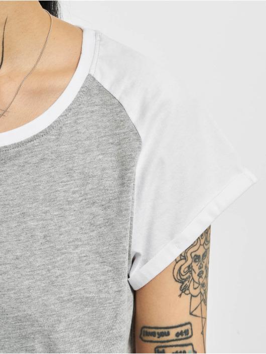 Urban Classics T-Shirt Contrast gris