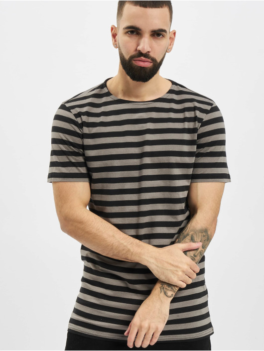 Urban Classics T-Shirt Stripe Tee gris