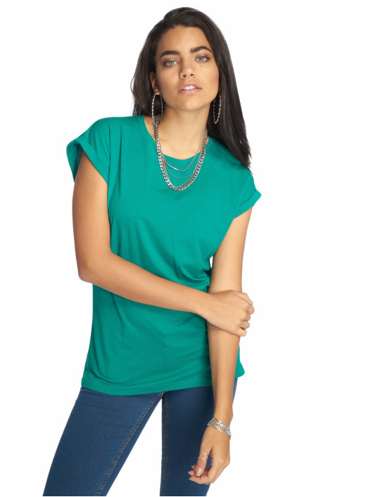 Urban Classics T-shirt Extended Shoulder grön