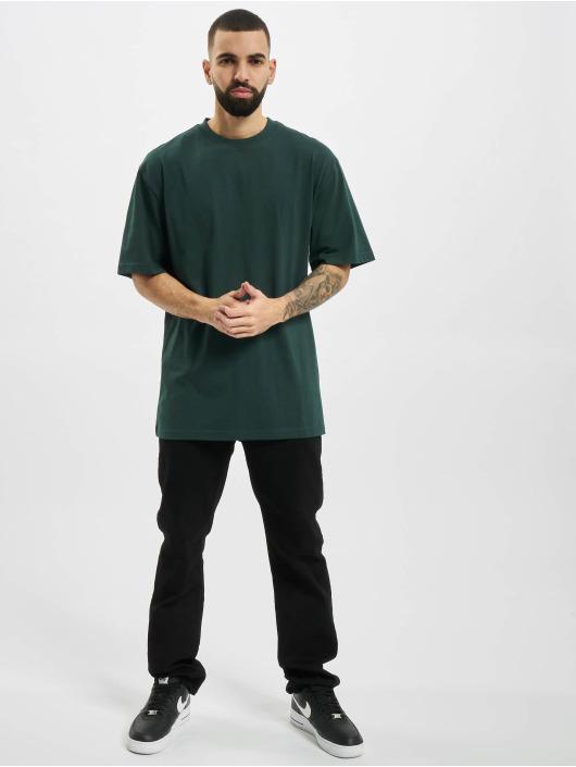 Urban Classics t-shirt Tall groen