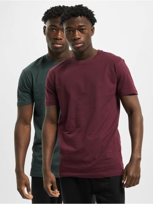 Urban Classics T-Shirt Basic 2-Pack grün