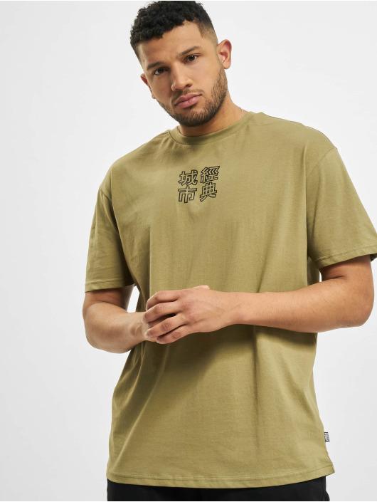 Urban Classics T-Shirt Chinese Symbol khaki