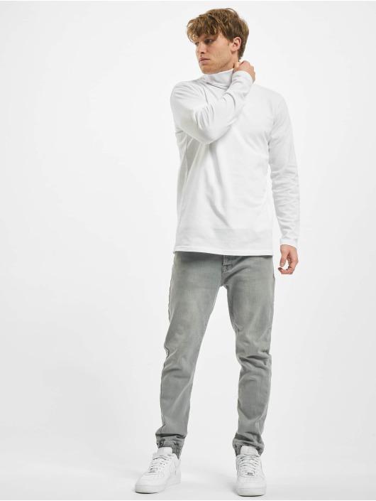 Urban Classics T-Shirt manches longues Turtle Neck LS blanc