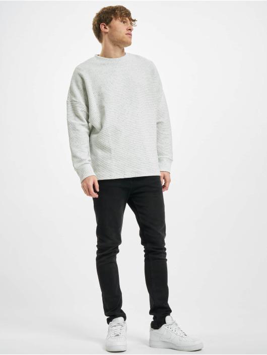 Urban Classics T-Shirt manches longues Cut On Sleeve Naps Interlock Crew gris