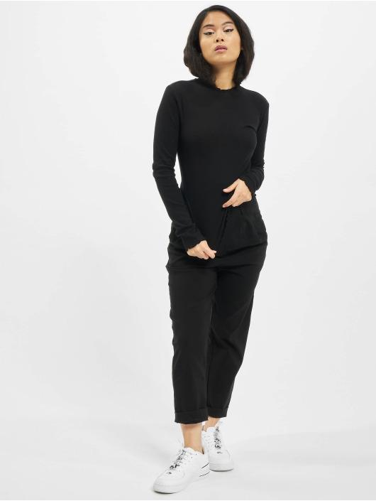 Urban Classics T-Shirt manches longues Short Rib noir