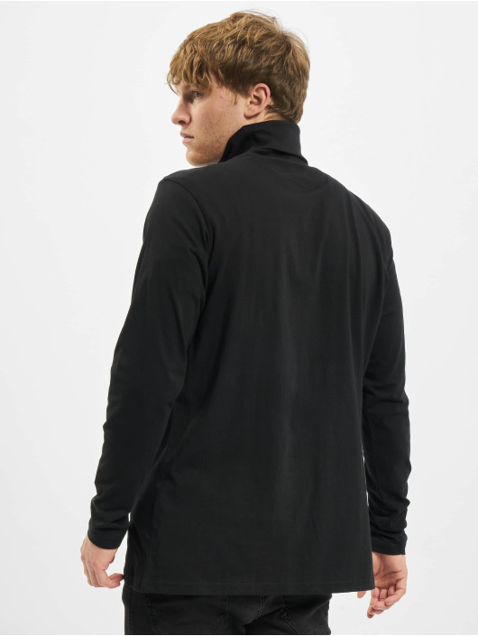 Urban Classics T-Shirt manches longues Turtle Neck LS noir
