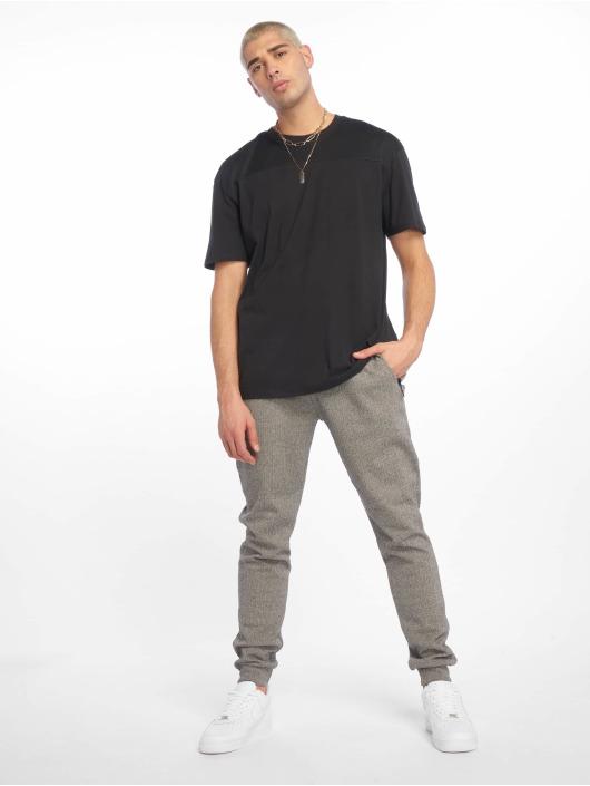 Urban Classics T-Shirt Mesh Panel noir