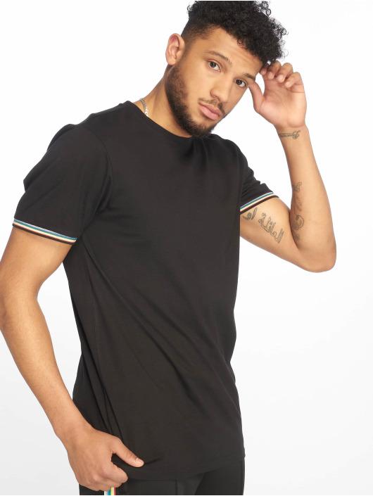 Urban Classics T-Shirt Rib Ringer noir