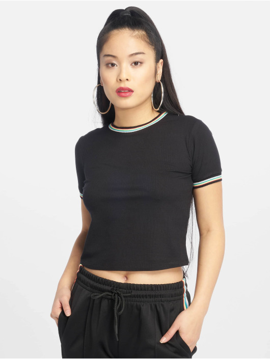 Femme Urban Short Rib Classics 638132 T Noir shirt Multicolor NOXn0w8kP