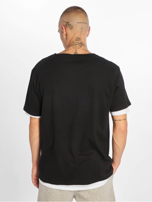 Urban Classics T-Shirt Full Double Layered noir