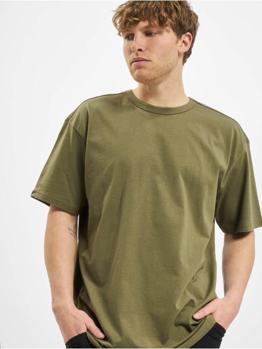 Urban Classics t-shirt Organic Basic Tee olijfgroen