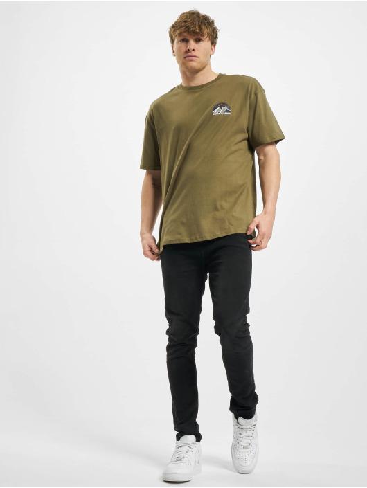 Urban Classics t-shirt Horizon Tee olijfgroen