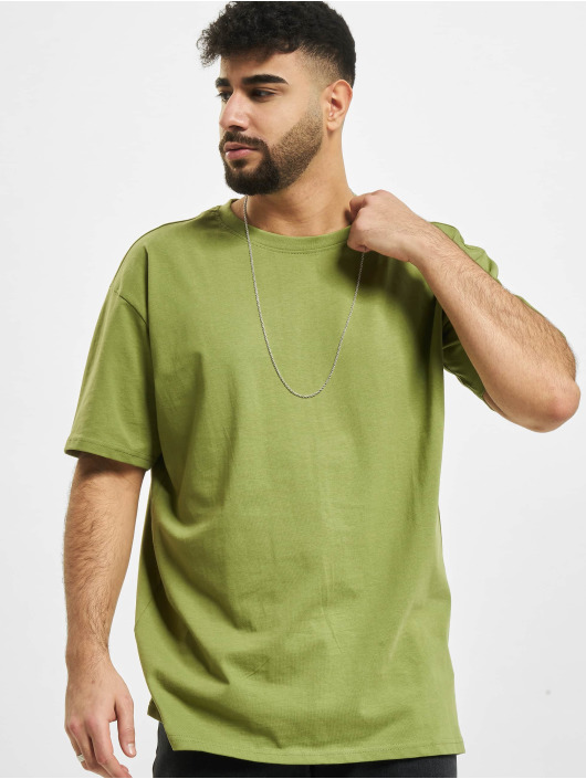 Urban Classics t-shirt Heavy Oversized olijfgroen