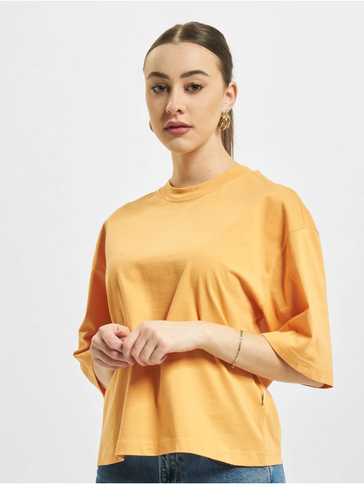 Urban Classics T-Shirt Organic Oversized orange