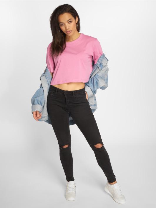 Urban Classics T-Shirt Short Oversized pink