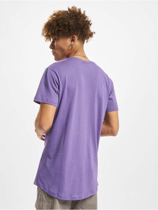 Urban Classics T-Shirt Shaped Long purple