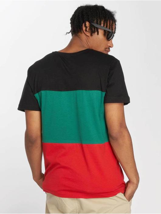 Urban Classics T-Shirt Color Block red