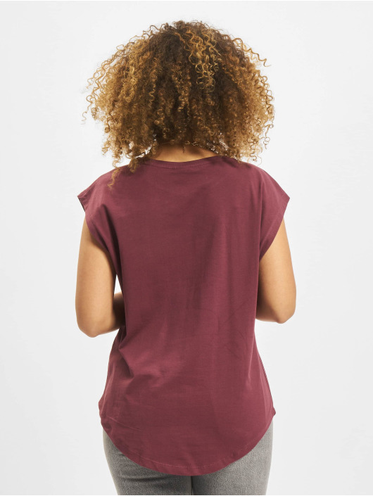 Urban Classics T-Shirt Basic Shaped red