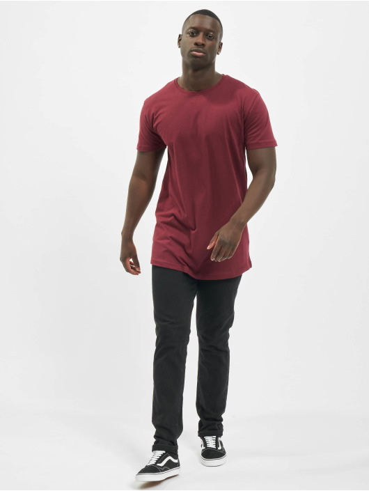 Urban Classics t-shirt Shaped Oversized Long rood