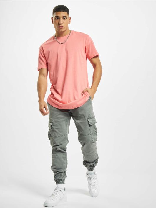 Urban Classics T-Shirt Shaped Long rosa