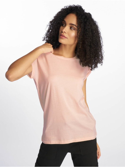 Urban Classics T-Shirt Extended Shoulder rose