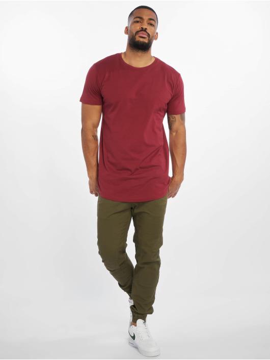 Urban Classics T-Shirt Shaped Long rot