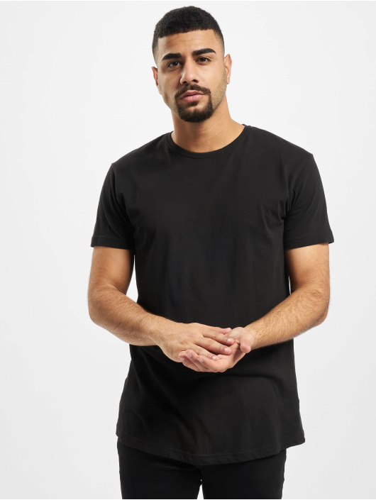Urban Classics T-Shirt Shaped Long schwarz