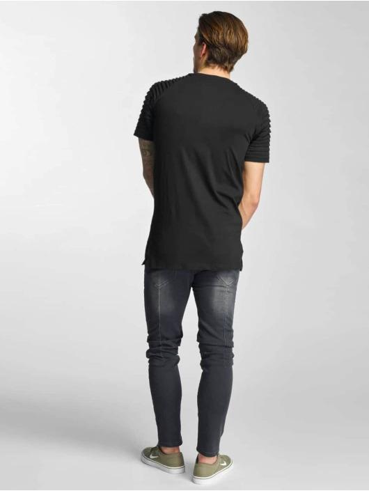 Urban Classics T-Shirt Pleat schwarz