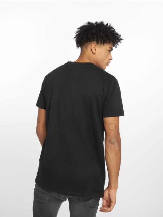 Urban Classics T-Shirt Check Panel schwarz