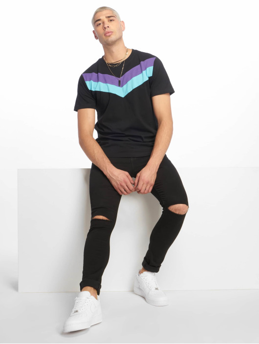 Urban Classics T-Shirt ArrowPanel schwarz