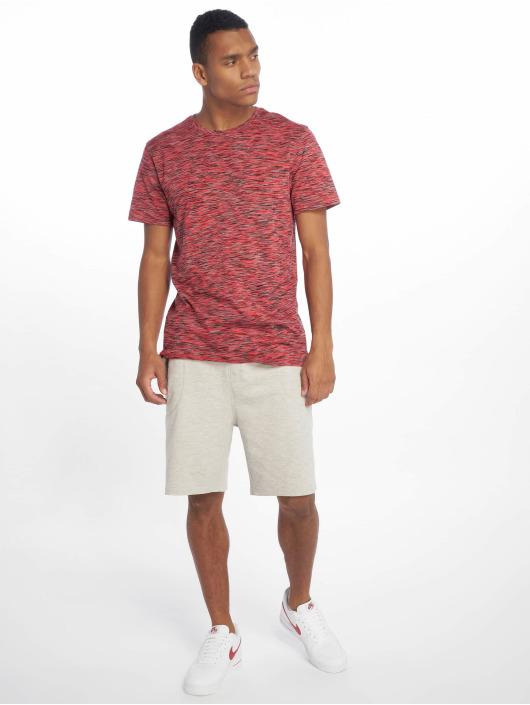 Urban Classics T-Shirt Striped schwarz