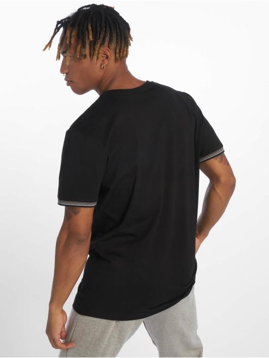 Urban Classics T-Shirt Rib Ringer schwarz