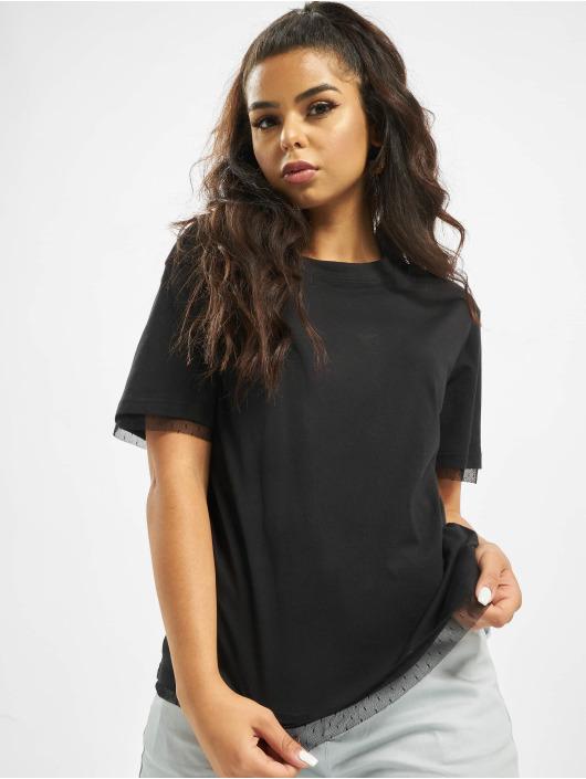 Urban Classics T-Shirt Boxy Lace schwarz