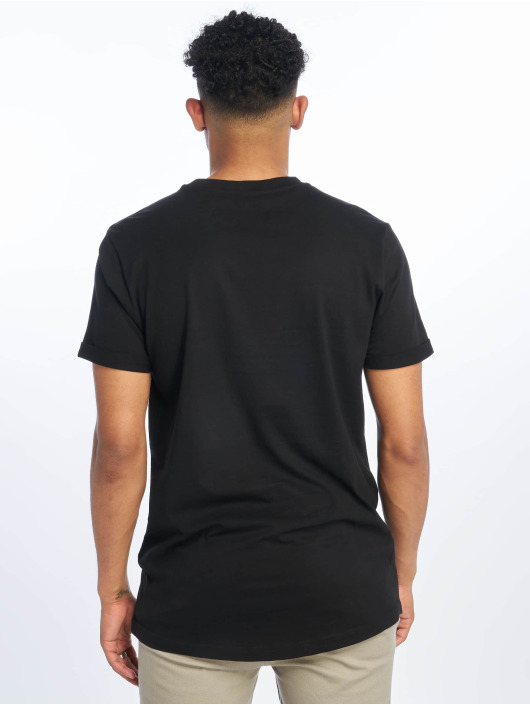 Urban Classics T-Shirt Short Shaped Turn Up schwarz